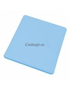 Доска разделочная 40х30х1.8см синяя полипропилен