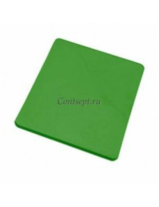 Доска разделочная 40х30х1.8см зеленая полипропилен