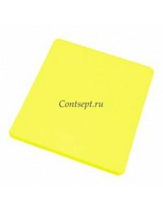 Доска разделочная 40х30х1.8см желтая полипропилен