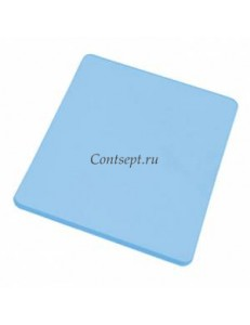Доска разделочная 50х35х1.8см синяя полипропилен