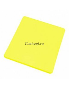 Доска разделочная 50х35х1.8см желтая полипропилен