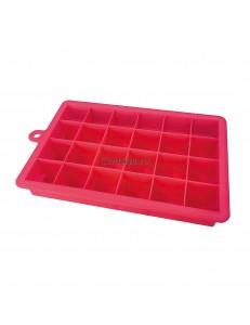 Форма для льда силиконовая Куб 24 ячейки 2.7х2.7см