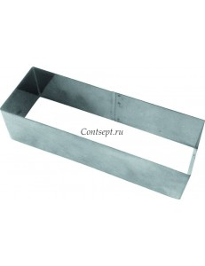 Форма кондитерская Прямоугольник 20х4х3см нержавеющая сталь
