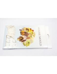 Форма силиконовая Сердце мини 35 ячеек 2,3х2,5х1 см PL Proff Cuisine