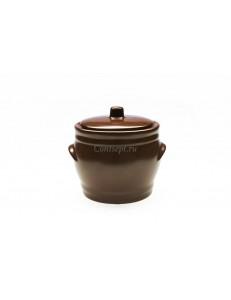 Горшок 1500мл керамика Kera-Ceramika