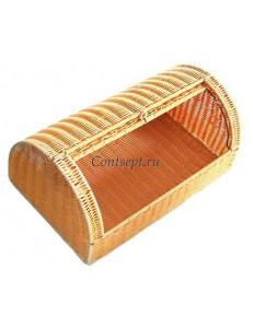 Хлебница 53х33х23см бежевая полиротанг