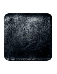 Тарелка квадратная 11х11см фарфор RAK серия Karbon