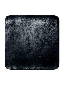 Тарелка квадратная 24х24см фарфор RAK серия Karbon