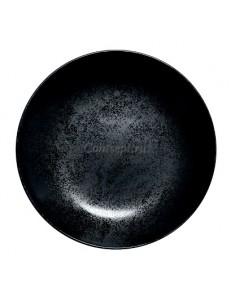 Тарелка глубокая 23см фарфор RAK серия Karbon