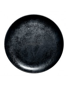 Тарелка мелкая 24см фарфор RAK серия Karbon