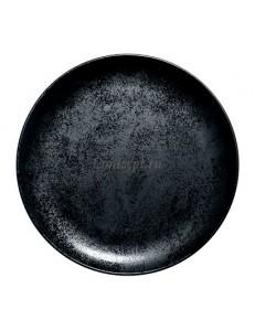 Тарелка мелкая 27см фарфор RAK серия Karbon