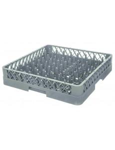 Кассета посудомоечная 50х50х10см 36 ячеек 7,5х7,5х8см