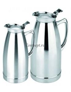 Кофейник-термос вакуумный 1,5л сталь PL Proff Cuisine
