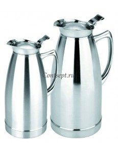 Кофейник-термос вакуумный 1л нержавеющая сталь PL Proff Cuisine