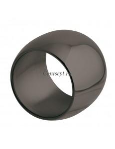 Кольцо для салфеток 5см черный цвет Sambonet Sphera