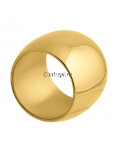 Кольцо для салфеток 5см золотой цвет Sambonet Sphera