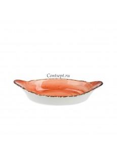Кроншель овальный 22см 150мл фарфор PL Proff Cuisine серия ORGANICA SPICY