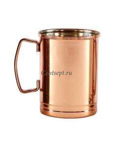Кружка коктейльная Moscow Mule 350мл с медным покрытием