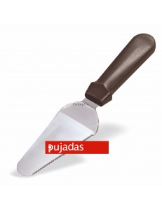 Лопатка для торта 28см с изгибом с пластиковой ручкой