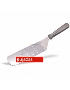 Лопатка перфорированная 7см пластиковая ручка Pujadas