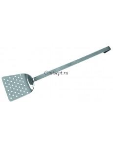 Лопатка с длинной ручкой перфорированная 45см