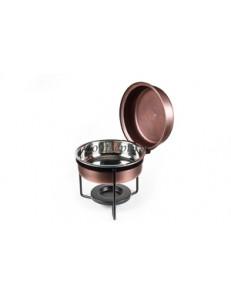 Мармит сервировочный 30см 3л с медным покрытием Antique Copper