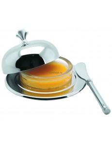 Масленка с крышкой 14х7см нержавеющая сталь P.L. Proff Cuisine