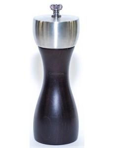 Мельница для перца деревянная черная 15 см