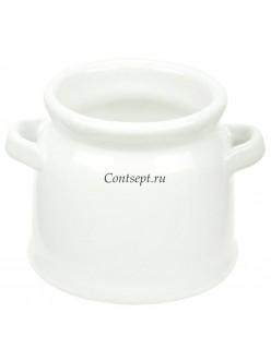Молочник с двумя ручками 100мл 7х6см фарфор PL Proff Cuisine
