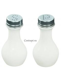 Набор для специй 2 предмета соль/перец фарфор PL Proff Cuisine