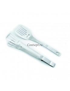 Набор лопатка и щипцы для гриля 35,5см PL Proff Cuisine