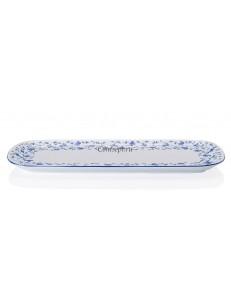Поднос прямоугольный 35х15см фарфор Arzberg серия Form 1392 Blaubluten