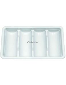 Подставка для столовых приборов 4 ячейки 53х33см пластик