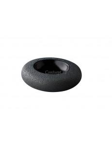 Салатник 17х5см Vulcanic black Raw Desigh by Kevala
