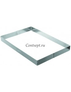 Рама кондитерская 36х56,5х3,5см нержавеющая сталь