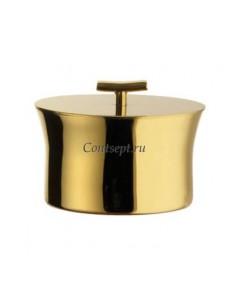 Сахарница 200мл золотого цвета Sambonet Bamboo PVD Tin Gold