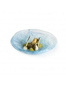 Салатник 125мл 16см стекло PORDAMSA серия Aquamare