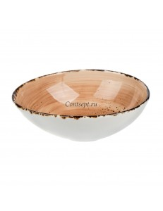 Салатник 14,5х12,5см 300мл фарфор PL Proff Cuisine серия ORGANICA SAND