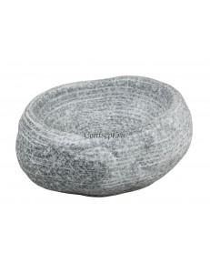 Салатник 22,5х18,5х9,5 см серия Untouched Taiga матовый фарфор PL Proff Cuisine