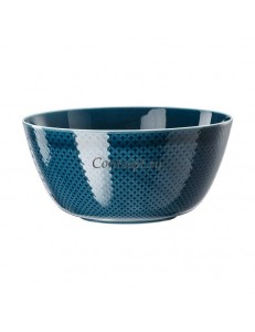 Салатник 22х10см фарфор Rosenthal серия Junto Ocean Blue