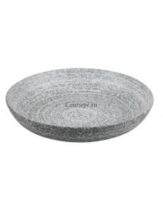 Салатник 25х4,5 см серия Untouched Taiga матовый фарфор PL Proff Cuisine