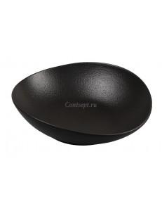 Салатник 27х25х7,5 см фарфор PL Proff Cuisine серия Black star
