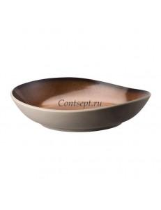 Салатник 28х27см керамика Rosenthal серия Junto Bronze