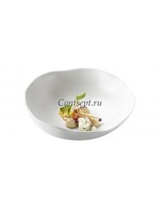 Салатник 700мл 23х6см матовый фарфор PORDAMSA серия Gastro