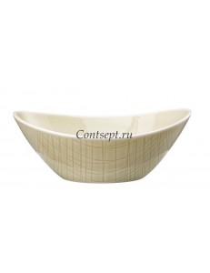 Салатник овальный 16х12см фарфор Rosenthal серия Mesh Cream