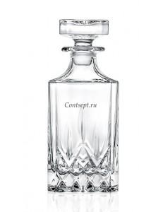 Штоф для виски 750мл стекло RCR Opera