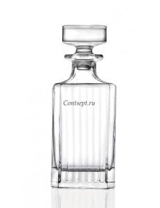 Штоф для виски 750мл стекло RCR TimeLess