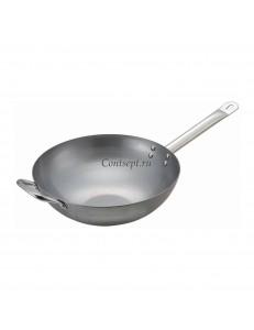Сковорода ВОК 36см углеродная сталь PL Proff Cuisine