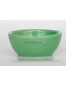 Соусник 60мл зеленый керамика Kera Ceramika