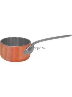 Соусник с ручкой 50мл 5см нержавеющая сталь с медным покрытием